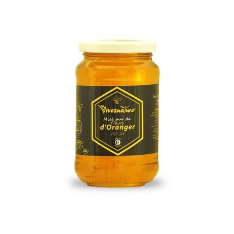 Miel de Fleur d'Oranger, 500g - Vivez Nature