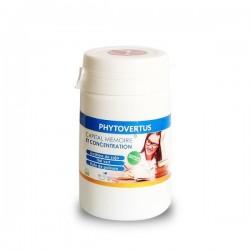 Capital mémoire & concentration Phytovertus, boite de 30 gélules